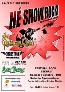 Hé Show Rock 2013